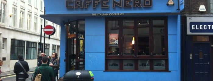 Caffè Nero is one of Kim's London Favs & Wishlist.