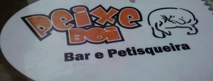Peixe Boi is one of 20 restaurantes que eu indico em BH.