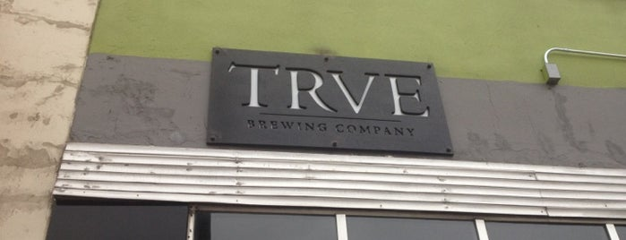 TRVE Brewing Co. is one of Colorado Breweries.