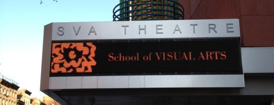 SVA Theatre is one of Tribeca Film Festival #TFF2012.