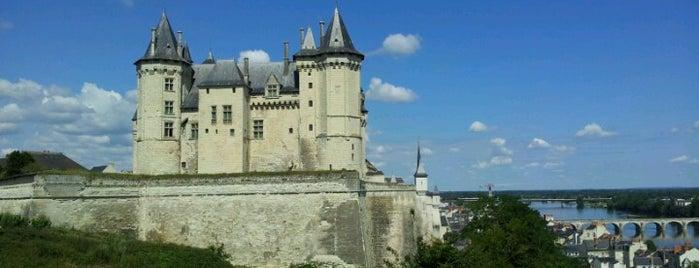 Château de Saumur is one of France.