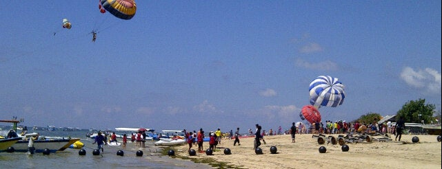 Tanjung Benoa Dive & Water Sports is one of pick up.
