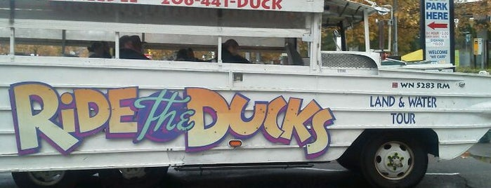 Ride the Ducks is one of Seattle.