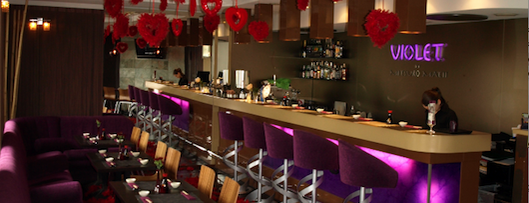 Violet Sushi is one of Poznań for dog lovers.