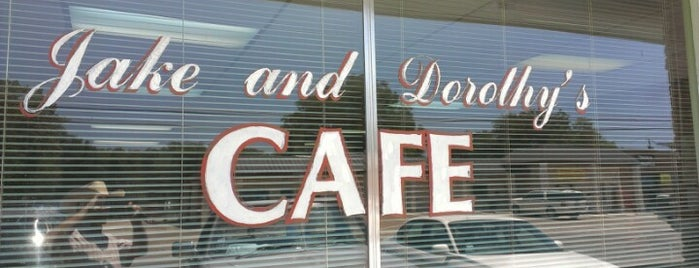 Jake & Dorothy's Cafe is one of Texas Highways Top Mom & Pop Stops.