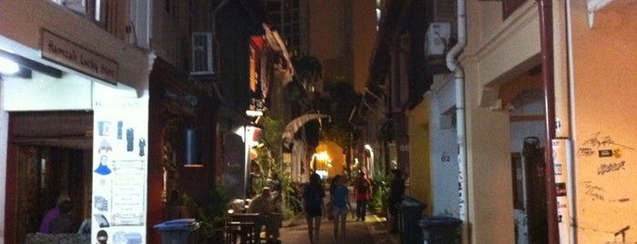 Haji Lane is one of Shopping: FindYourStuffInSG.