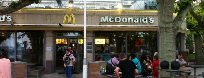 McDonald's is one of Cannes.