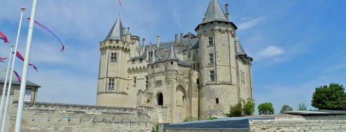Château de Saumur is one of Châteaux de France.