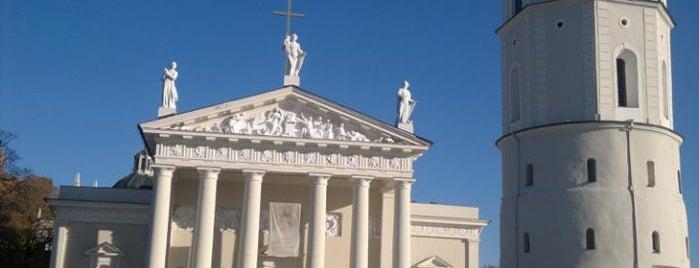 Vilniaus arkikatedra ir Šv. Kazimiero koplyčia | Cathedral of St Stanislaus and St Vladislav and Chapel of St Casimir is one of Вильнюс.