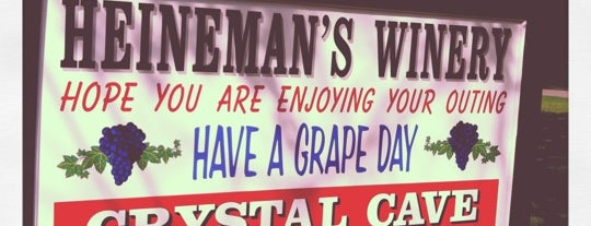 Heineman's Winery is one of OH - Ottawa Co. (PIB).