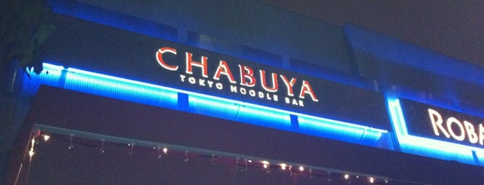 Chabuya Tokyo Noodle Bar is one of David & Dana's LA BAR & EATS!.