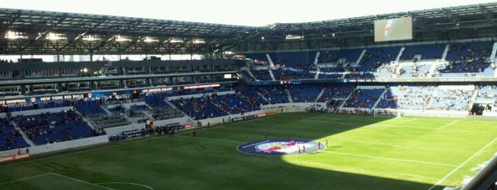 Red Bull Arena is one of MAXimum Soccer.