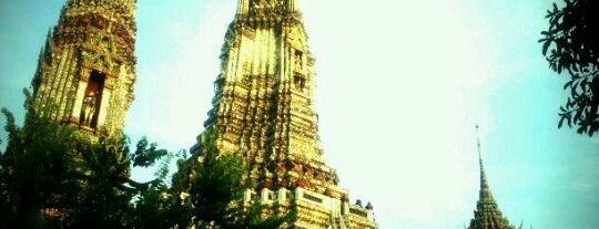 Wat Arun Rajwararam is one of I Love Bangkok!.
