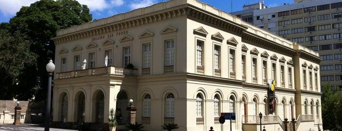 Theatro São Pedro is one of Porto Alegre.