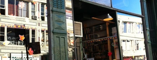 Myopic Books is one of Buy Local Guide: Chicago's Independent Bookstores.