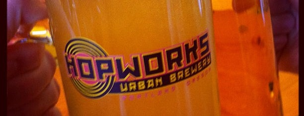Hopworks BikeBar is one of Best Brew Pubs in Portland.