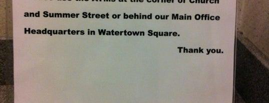 Watertown Savings Bank is one of Locais curtidos por Rich.