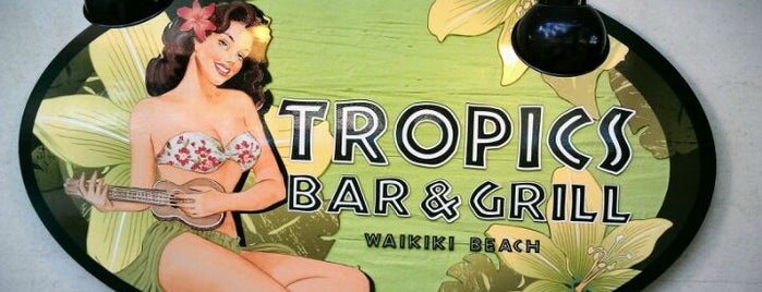 Tropics Bar & Grill is one of Food in hawaii.