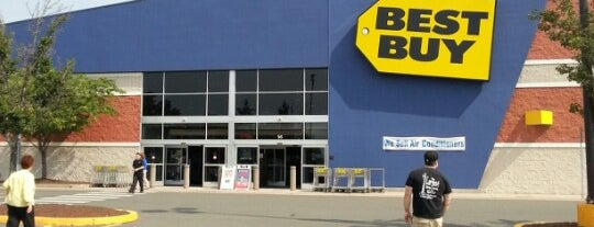 Best Buy is one of Orte, die Lindsaye gefallen.