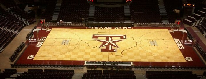 Reed Arena is one of Basketball Arenas.