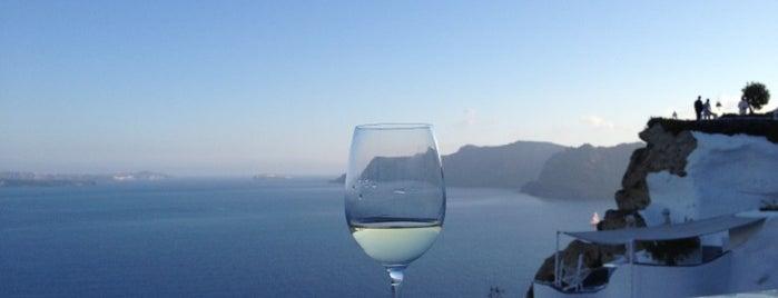 Romance in Santorini