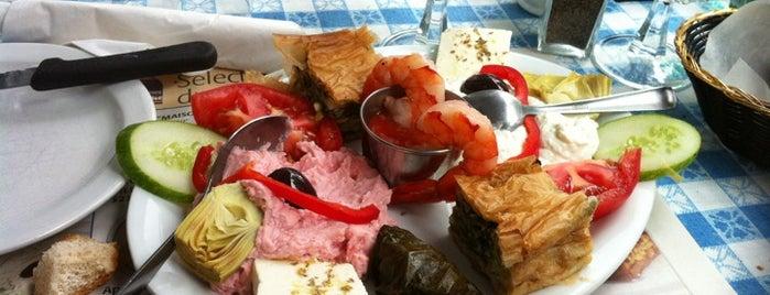 La Maison Grecque is one of La bonne bouffe @Montreal.