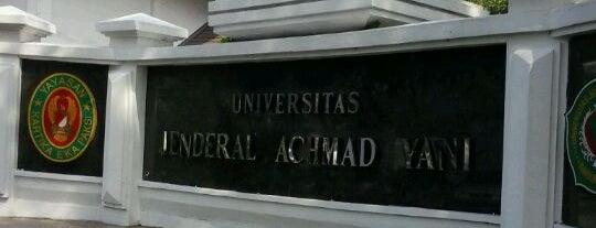 Universitas Jenderal Achmad Yani (UNJANI) is one of Cimohay spots.