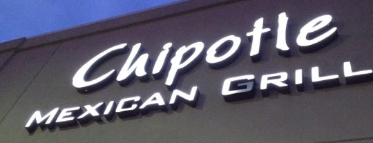 Chipotle Mexican Grill is one of Tim 님이 좋아한 장소.