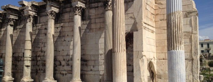 Hadrian's Library is one of Athens: Main Sights.