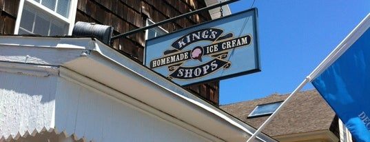 King's Homemade Ice Cream is one of Rehobeth.