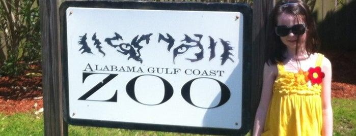 Alabama Gulf Coast Zoo is one of Life's a Zoo.
