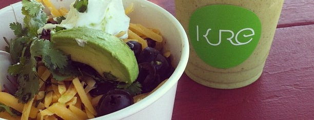 KURE Juice Bar is one of Gluten Free Grub.