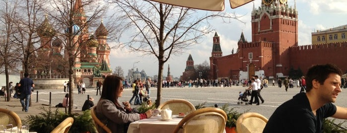 Bosco Cafe is one of Moscow.