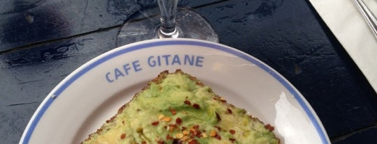 Café Gitane is one of New York City Favorites.