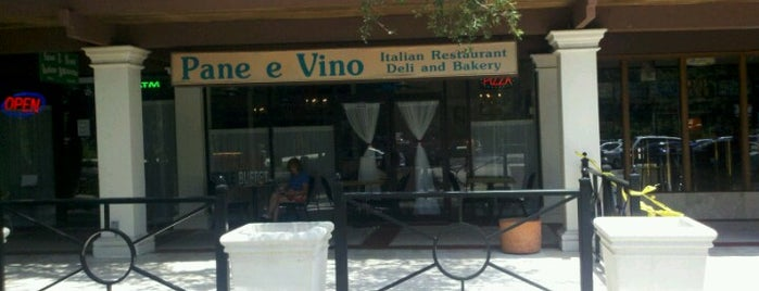 Pane E Vino Italian Restaurant is one of สถานที่ที่ Michael ถูกใจ.