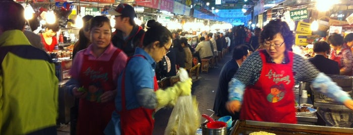 Gwangjang Market is one of Seoul.
