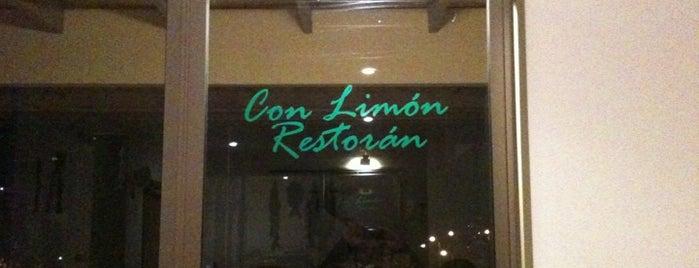 Restoran Con Limon is one of Locais curtidos por Viviana Carolina.