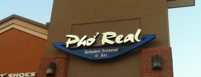 Pho Real Vietnamese Restaurant is one of where to eat ;).