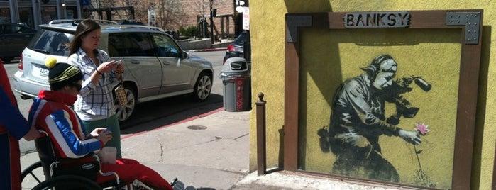 Banksy Mural is one of Gespeicherte Orte von MISSLISA.