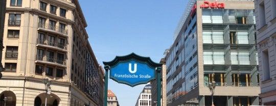 U Französische Straße is one of In Development.