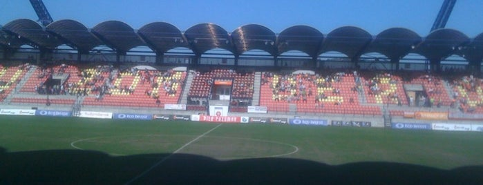 Štadión MFK Ružomberok is one of Prvoligové futbalové štadióny.