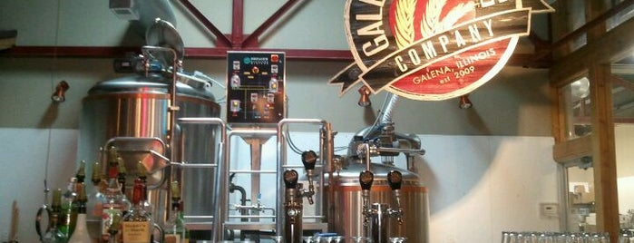 Galena Brewing Company is one of Posti che sono piaciuti a Mark.