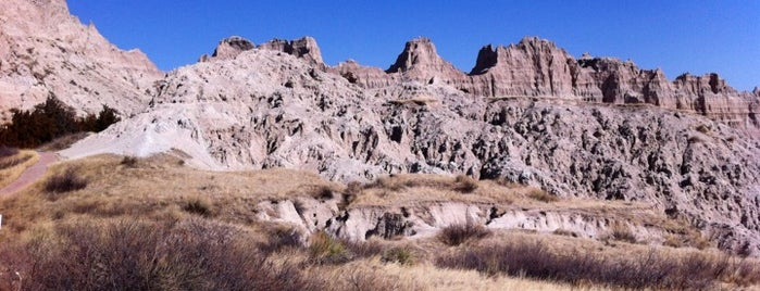 Badlands National Park is one of Rapid City.