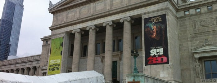 The Field Museum is one of Traveling Chicago.