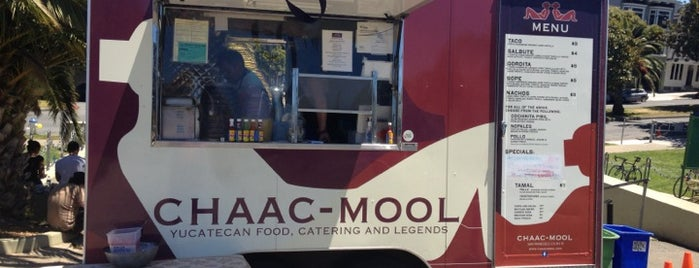 Chaac-mool Taco Truck is one of [To-do] San Francisco.