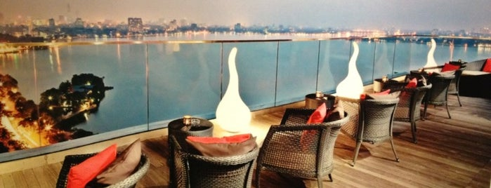 Summit Lounge at Pan Pacific Hanoi is one of SOUTH EAST ASIA Dining with a View.
