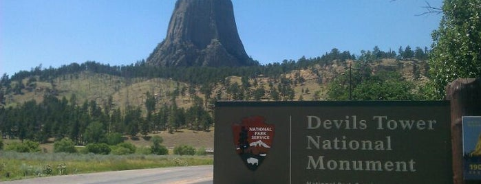 Devils Tower National Monument is one of Historic America.