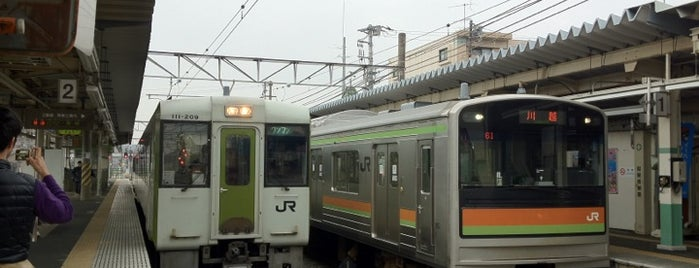 Komagawa Station is one of JR 미나미간토지방역 (JR 南関東地方の駅).