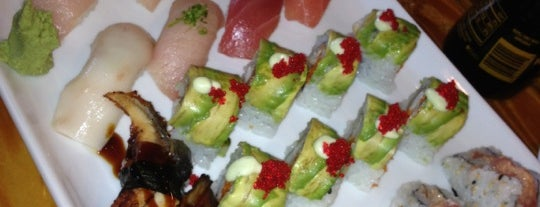 Origami Sushi Bar is one of Key West.