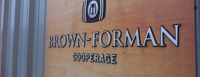 Brown Forman Cooperage is one of Kentucky Y'all.